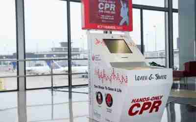 Learn CPR on your Layover