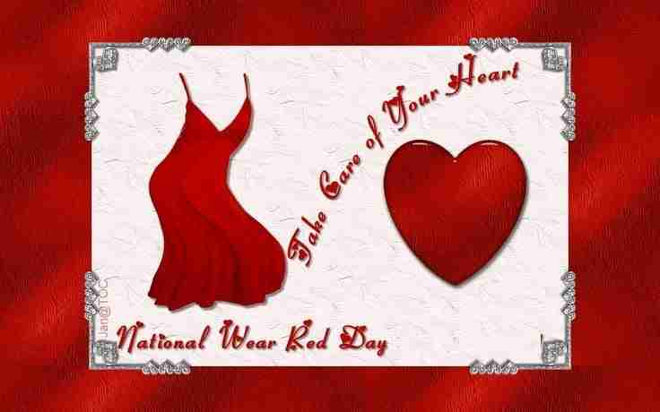 Don't Forget to Go Red on February 1st !!