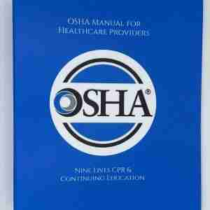OSHA Manual for Healthcare Providers