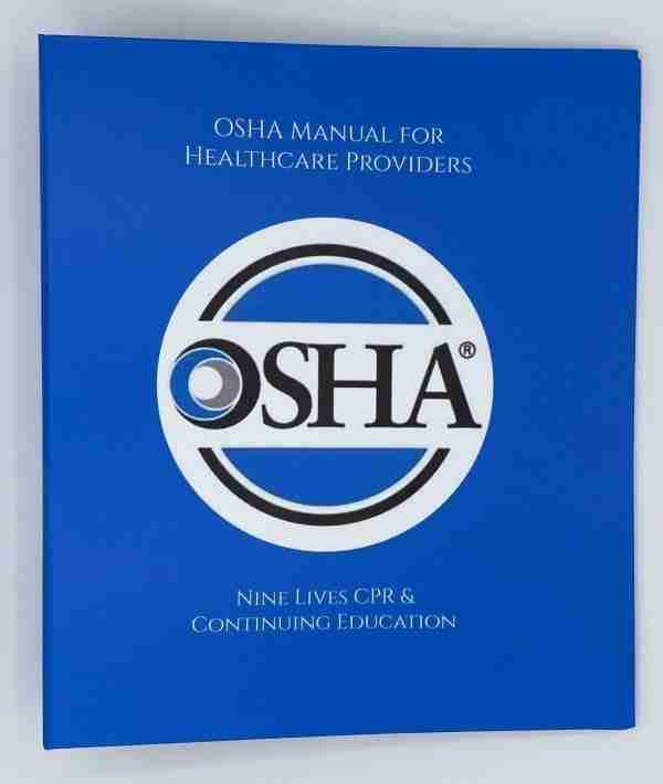 OSHA Manual for Healthcare Providers